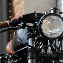 La Honda CB 750 Seven Fifty cafe-racer d'Olivier...