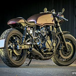 La Honda CB 750 Seven Fifty cafe-racer de Martial...