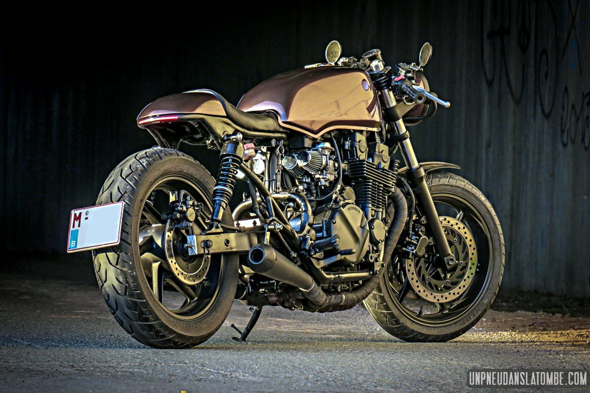 la honda cb 750 seven fifty cafe racer de martial. Black Bedroom Furniture Sets. Home Design Ideas