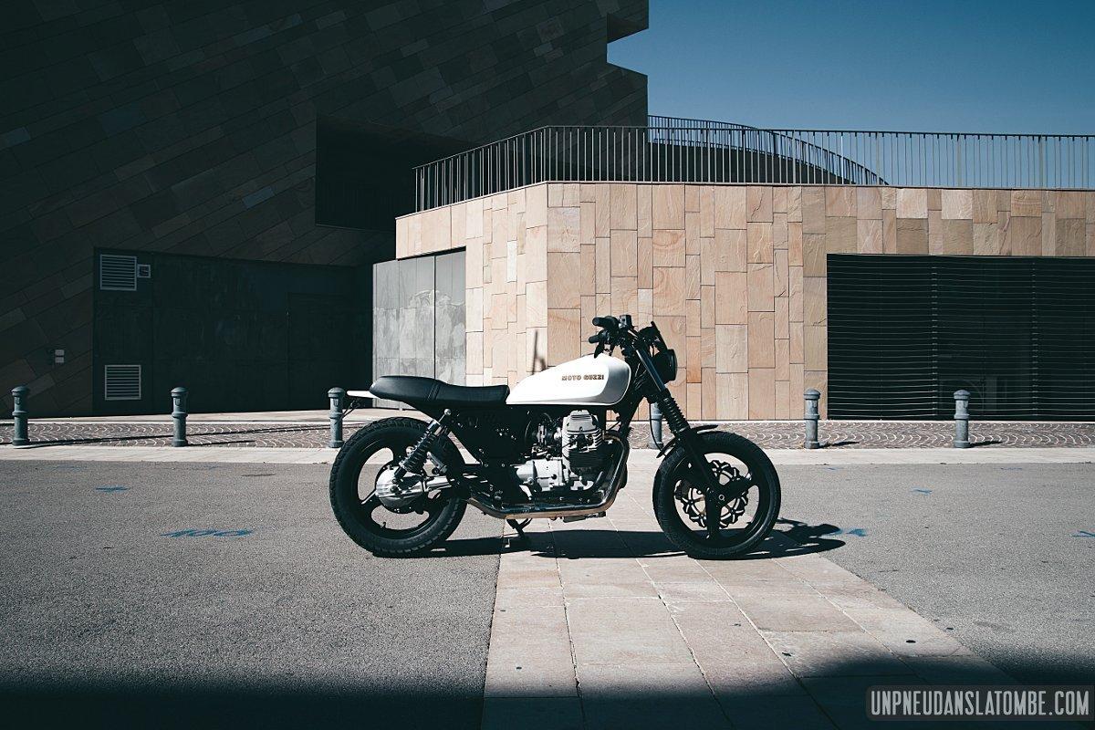 Moto Guzzi 750 Breva personnalisée : bien joué !