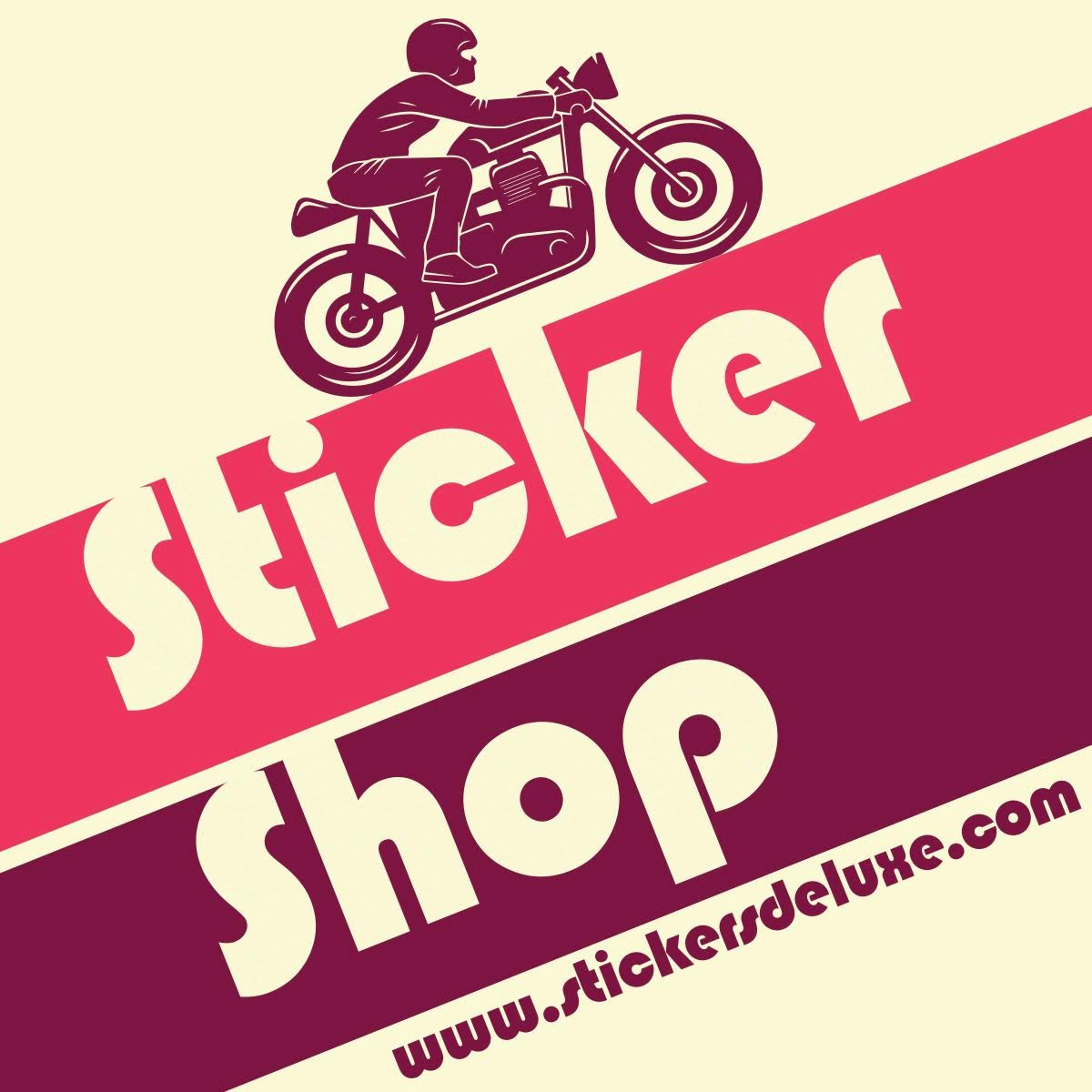 Stickers Deluxe Stickers & apparel, finest quality...