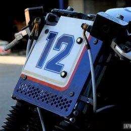 Une Suzuki 1200 Bandit cafe-racer, sortie de chez Taverne Motorcycle...