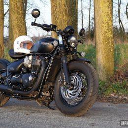 Triumph Bobber Black : un p'tit hot rod venu d'Hinckley !