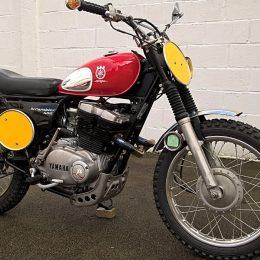 """Yamaha XS 500 scrambler : la """"HuXSy"""" de Breizh Coast Kustoms !"""