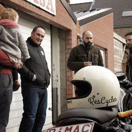 ResCycles : au nord de la Belgique, l'atelier custom de Koen...