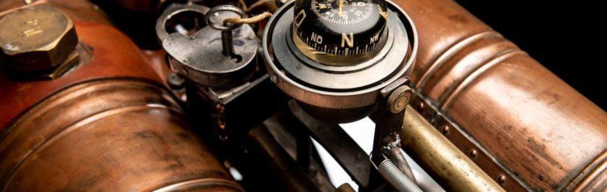 MêchesMonkeys Créations : une BMW R60/7 façon steampunk...