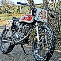 Badass Factory : une Honda CB 125 S street-tracker à la loterie !