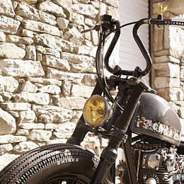 Yamaha XS 650 chopper : Seb Kustom Motorcycle dégaine un rigide japan style...