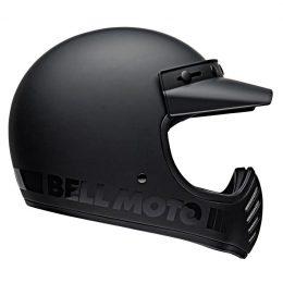 Quel casque intégral vintage et homologué choisir ? Le Bell Moto-3, par exemple.