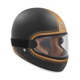 Quel casque intégral vintage et homologué choisir ? Le Nox Premium Rage, par exemple.