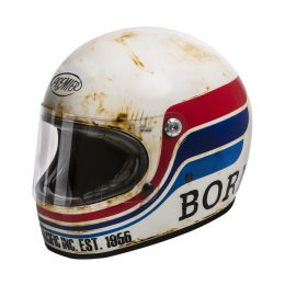 Quel casque intégral vintage et homologué choisir ? Le Premier Trophy, par exemple.