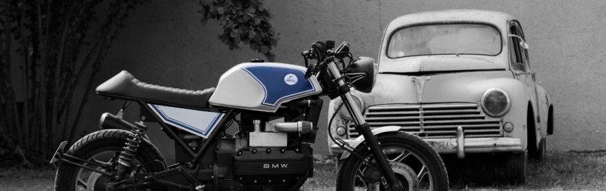 """BMW K100 cafe-racer : une """"flying brick"""" sortie de chez Tumulte..."""