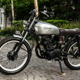 Honda CG 125 custom : encore une tuerie signée Kamaji !