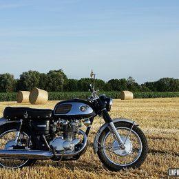 "Honda CB 450 ""Black Bomber"" 1968 : merci Temps 2 Chauffe pour l'essai !"