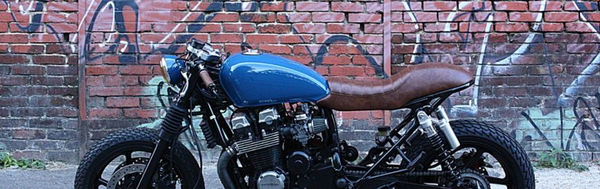 """Badasse"" : une Honda CB 750 Seven Fifty cafe-racer signée Mr. Cambouis..."