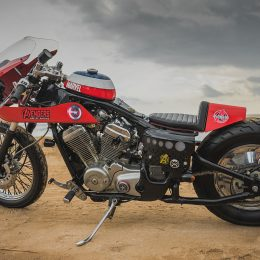 La Honda 600 Shadow custom de Lolo…
