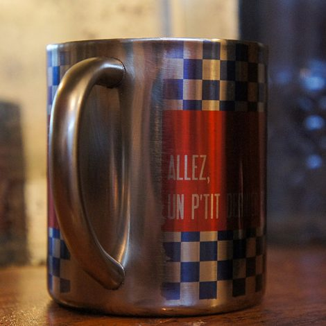 "Mug ""UPDLT"" - Boutique ""Un pneu dans la tombe""."