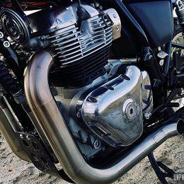 "Royal Enfield 650 Interceptor : une version ""premium"" signée Lys Motorcycles..."