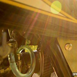 La Suzuki GN 125 custom de Thierry...