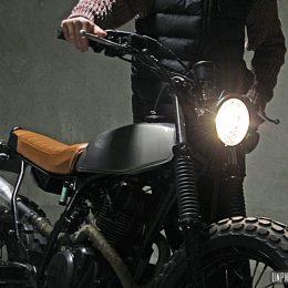 "La Yamaha TW 125 ""bratstyle"" de Benjamin…"