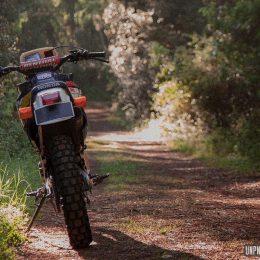 La Honda NX 125 d'Adrien, un p'tit trail façon enduro vintage !