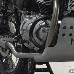 "Royal Enfield 650 Interceptor ""Mono 500 x Le Motographe"" : du mono au twin !"