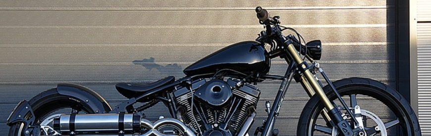 Une brutale Harley-Davidson Softail ? Non, une construction signée Metal Machines !