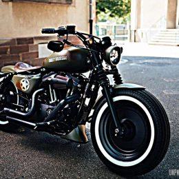 La Harley-Davidson 1200 Sportster personnalisée de William...