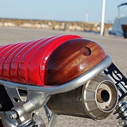 La Honda CY 80 custom de Nicolas...