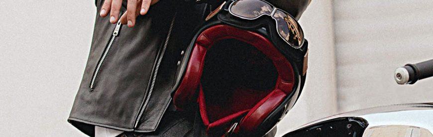 """""""The Classic"""" : un casque jet vintage signé Mârkö."""
