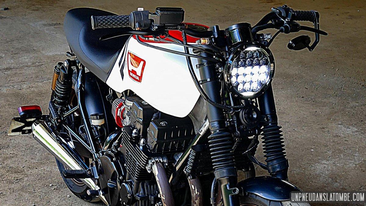 La Honda CB 750 Seven-Fifty cafe-racer de Luc...
