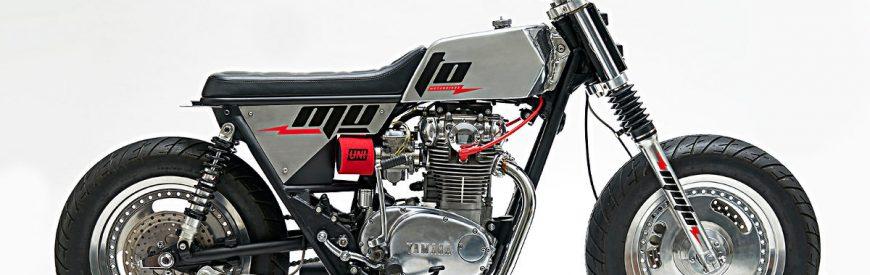 Yamaha XS 650 street-tracker : flagrant délit de récidive chez Muto Motorbikes !