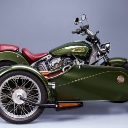 Indian 1200 Scout et Précision Gran'Sport : un splendide side-car !