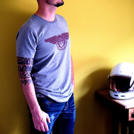 """T-shirt """"UPDLT"""" - Boutique """"Un pneu dans la tombe""""."""