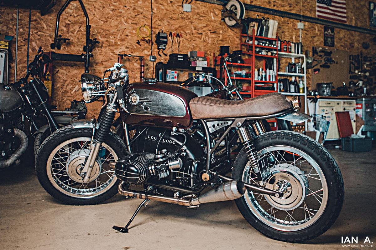 BMW R100 cafe-racer : suivez-moi chez Guit'Motorcycles...