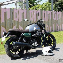 Moto Guzzi V7 IV : 850cm3 de fun !